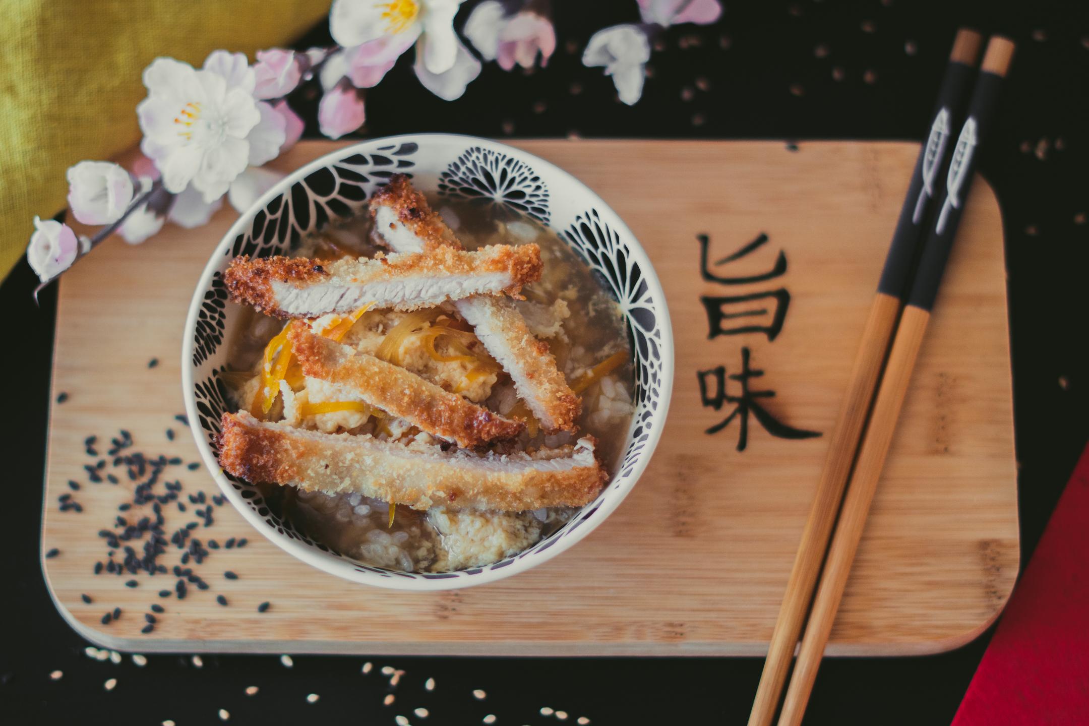 Menú Komokio - Donburi katsudon - Komo, cocina gourmet en tu casa