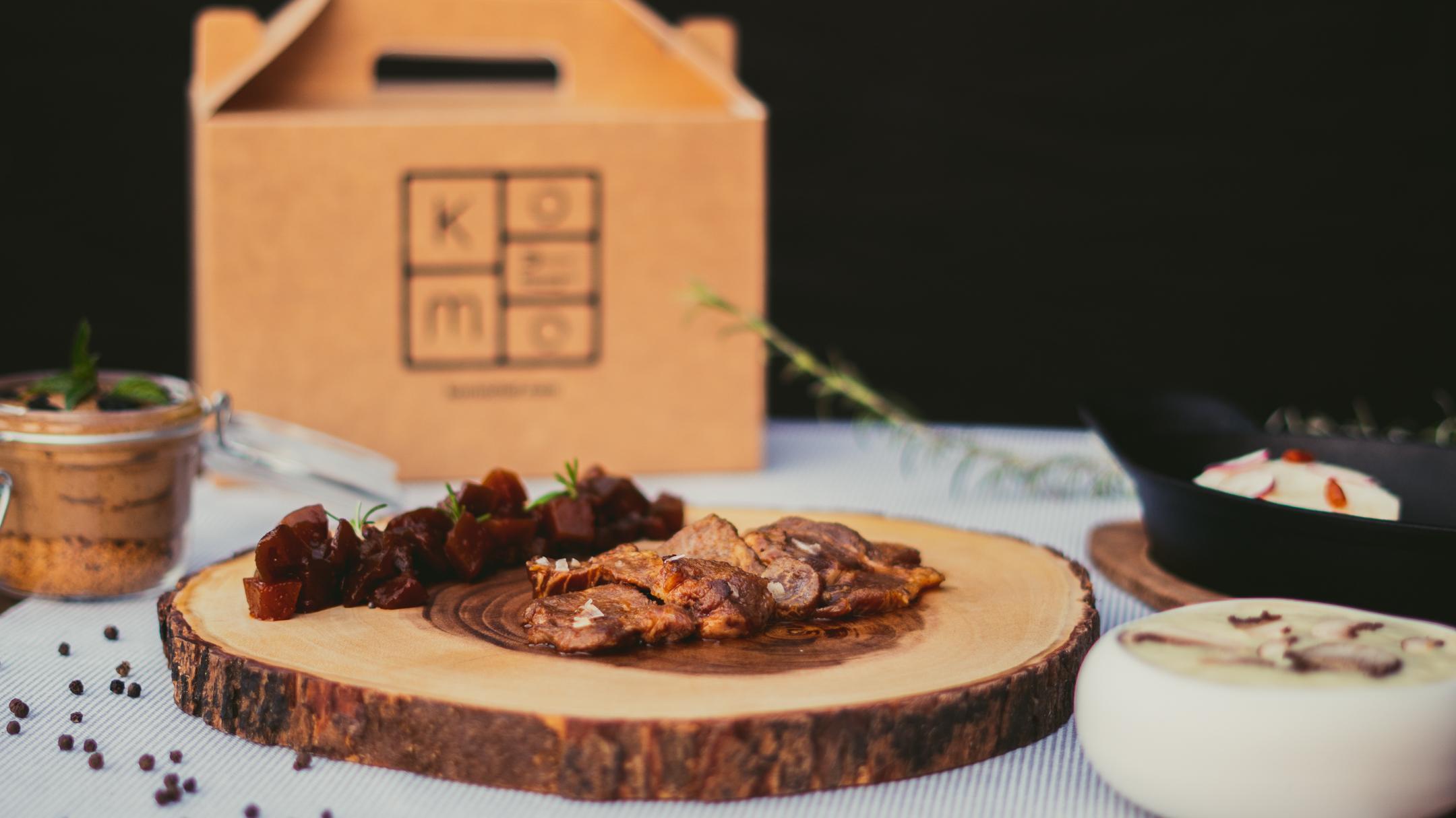 Menú Komoledo - Komo, cocina gourmet en tu casa