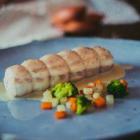 Menú Komorís - Paupiette de lubina - Komo, cocina gourmet en tu casa