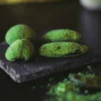 Menú Komokio - Trufas de té matcha - Komo, cocina gourmet en tu casa