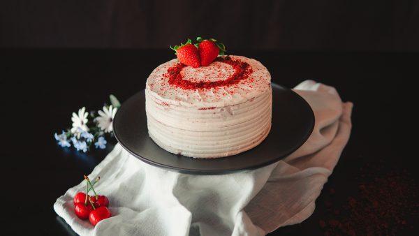 Tarta red velvet - Nuestro lado más dulce - Komo