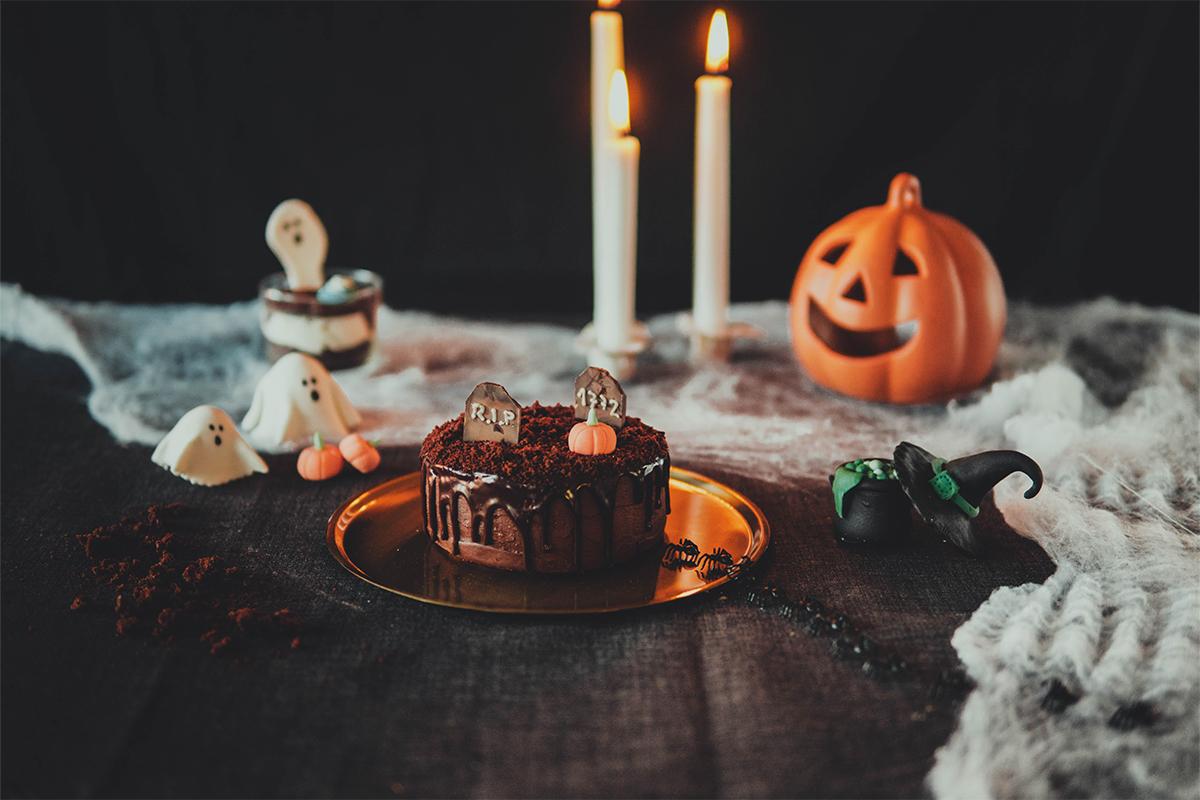 KomoChef - Halloween - Bizcocho de la Muerte